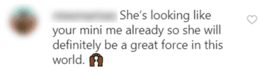 A fan's comment on Tia Mowry's post | Source: Instagram/ tiamowry