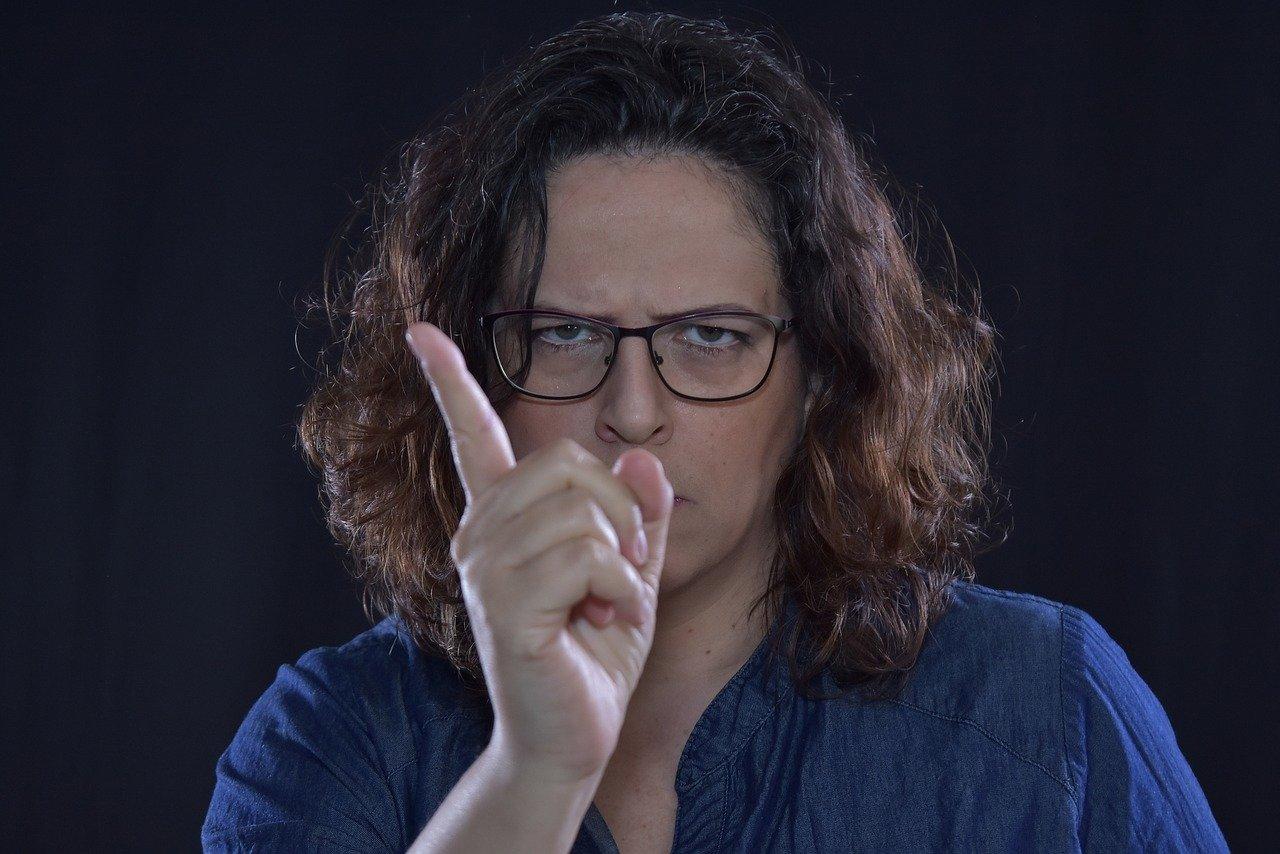 Mujer enojada. | Imagen: Needpix.com