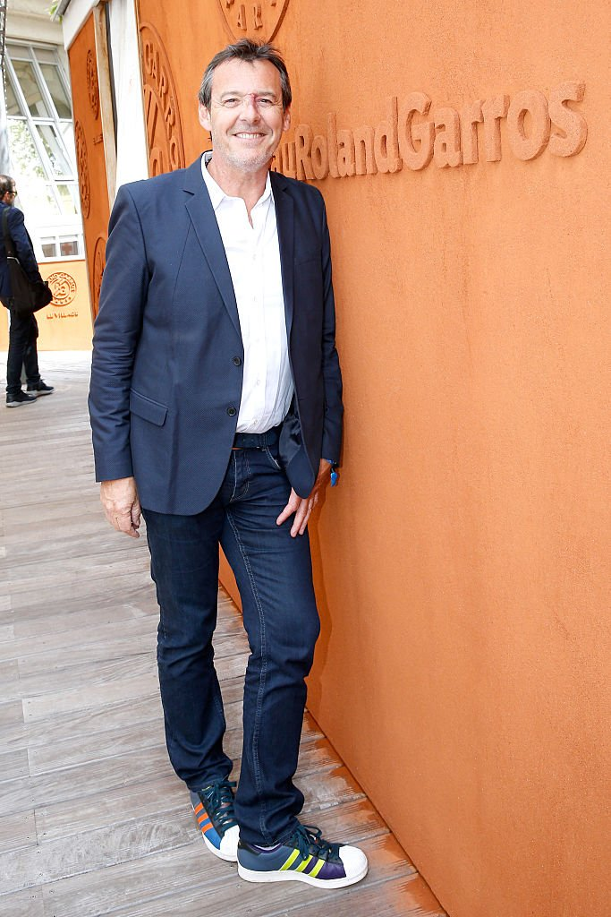 Jean-Luc Reichmann, le 27 mai 2016 à Roland Garros. ǀ Source : Getty Images