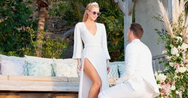 Paris Hilton Accepts Boyfriend's Proposal on 40th Birthday — Here Is a Closer Look at Her Ring