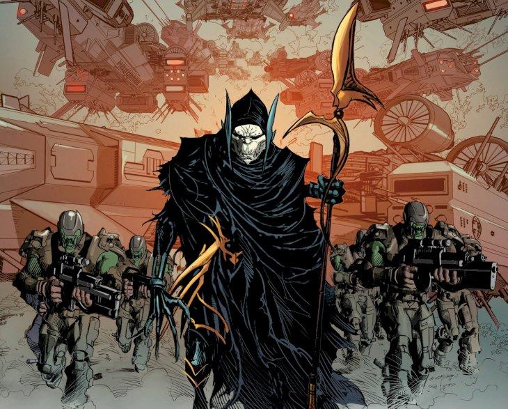 Image credit: Marvel/Thanos's Order (Wikipedia/Corvus Glaive)