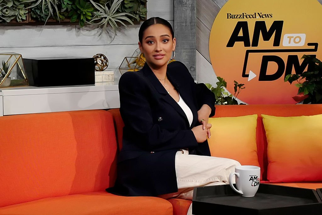 "Shay Mitchell at BuzzFeed's ""AM To DM"" on February 19, 2020. 