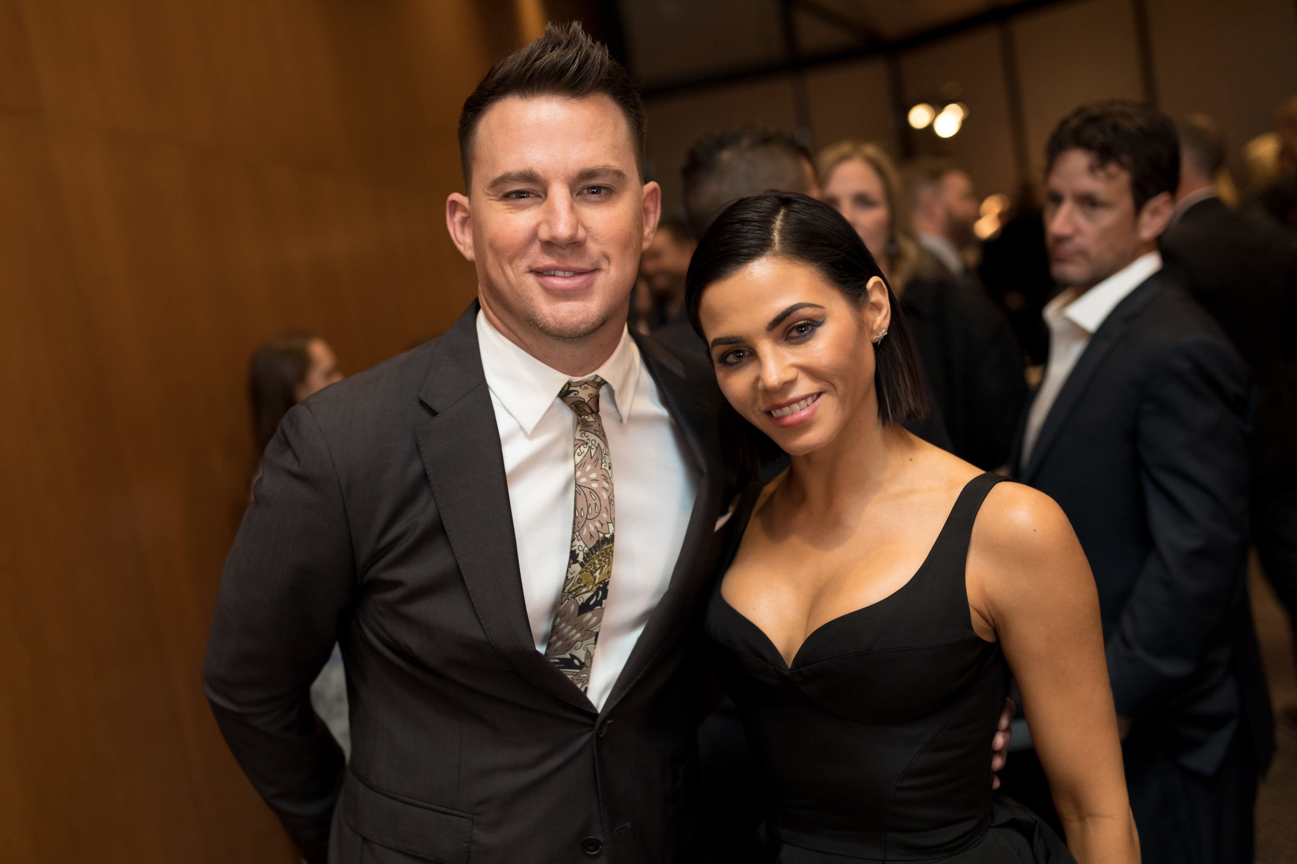 Channing Tatum and Jenna Dewan Tatum attend the after party at The Directors Guild Of America on November 6, 2017, in Los Angeles, California. | Source: Getty Images
