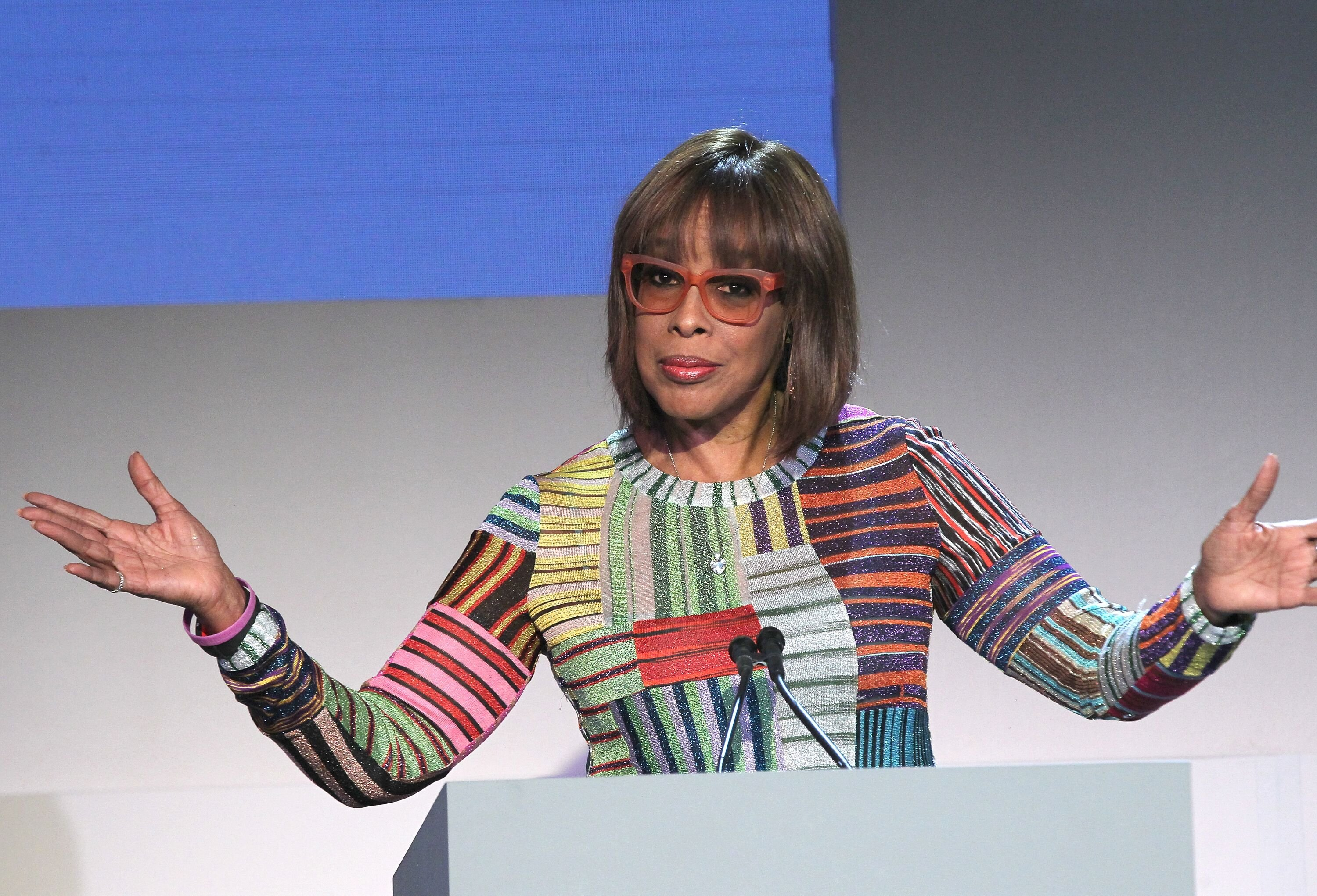 Gayle King speaks onstage at the WSJ. Magazine 2018 Innovator Awards Sponsored By Harry Winston, FlexJet & Barneys New York - Inside at MOMA on November 7, 2018 | Photo: Getty Images