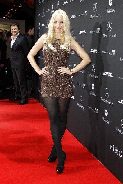 Sylvia Leifheit, Guido Maria Kretschmer Show - Mercedes-Benz Fashion Week Berlin, 2012 | Quelle: Getty Images