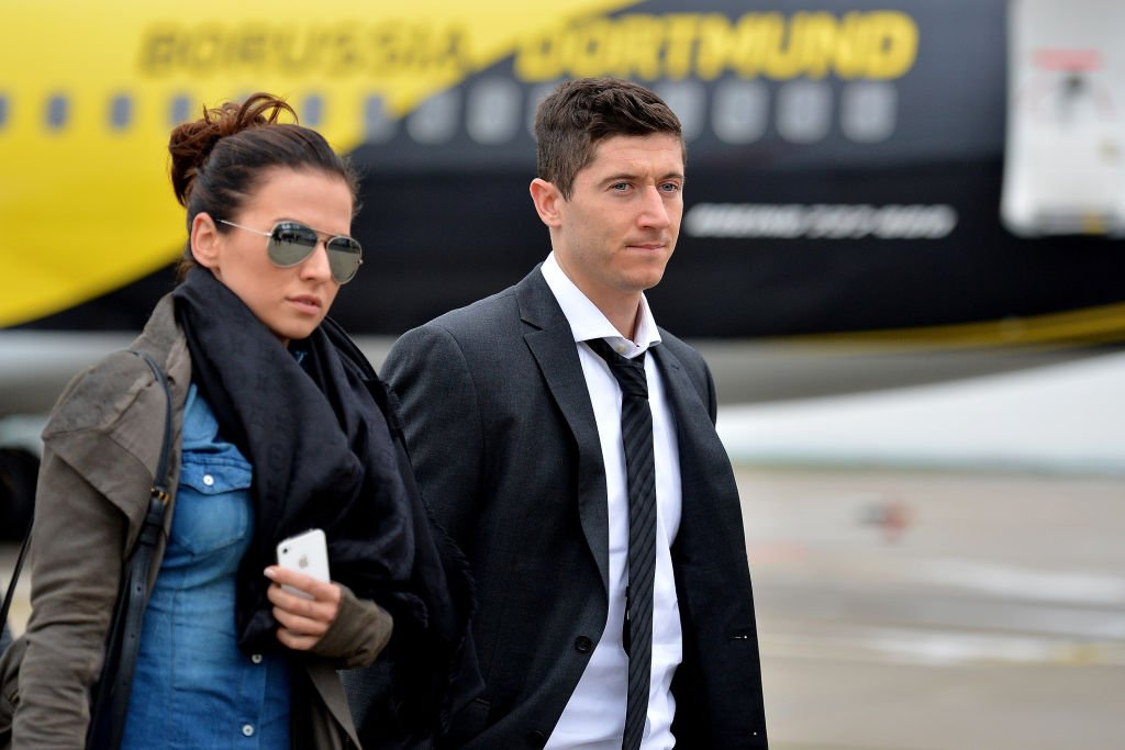 Robert und Anna Lewandowski, 2013 |Quelle: Getty images