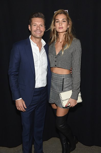 Ryan Seacrest and Shayna Taylor at Spring Studios on September 11, 2018 in New York City | Photo: Getty Images