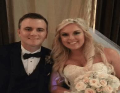 Le pompier Jacob Graves et sa fiancée. | Facebook/KWTV - NEWS 9