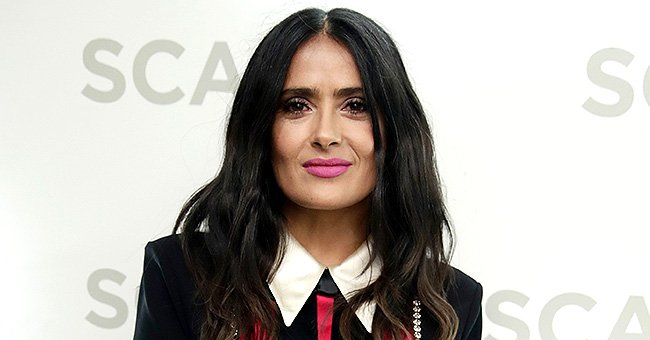 Salma Hayek Shows off Her Gorgeous Figure in Swimwear Ahead of Her 54th Birthday
