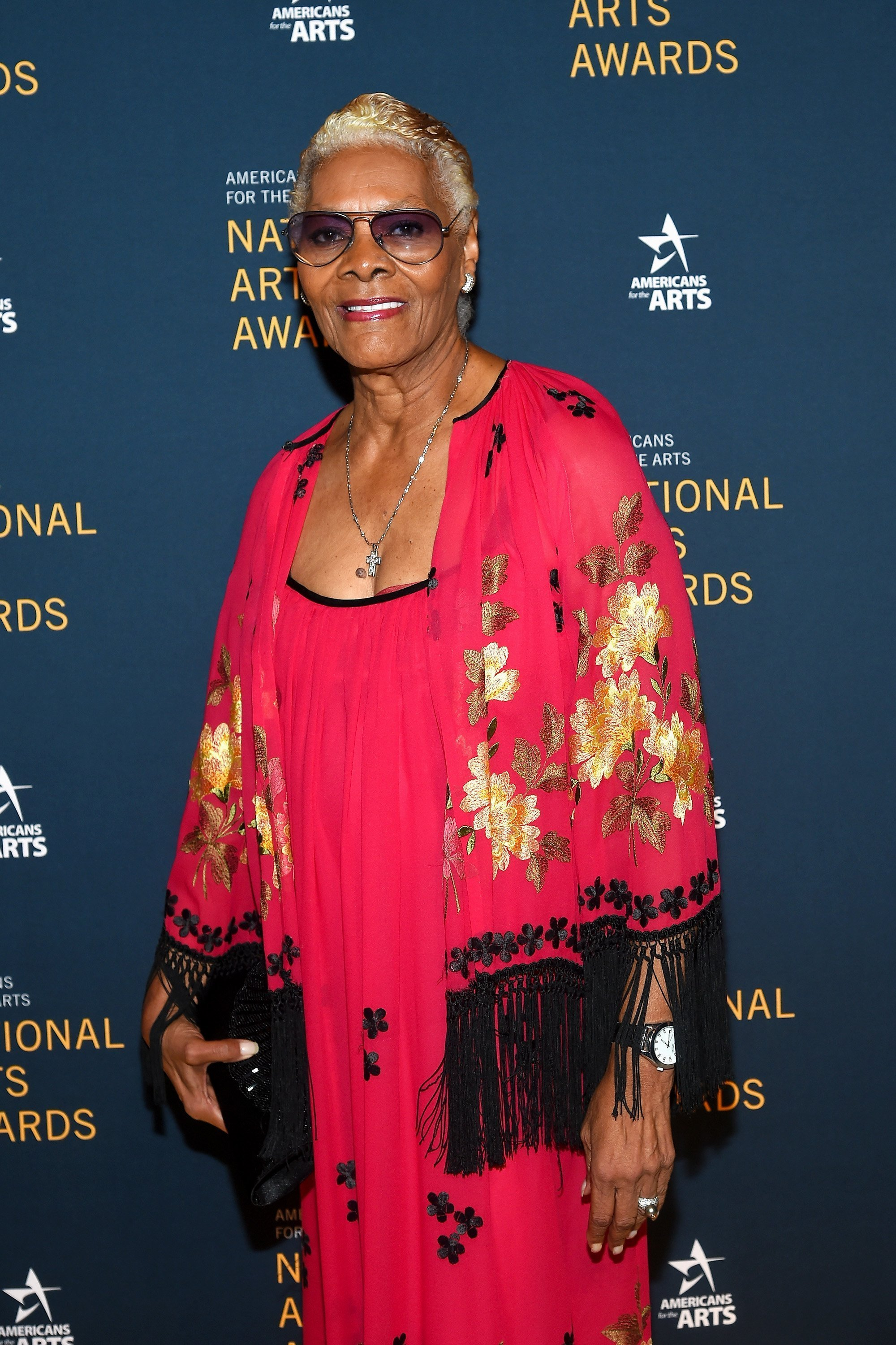 Dionne Warwick at the National Art Awards in October 2017. | Source: Getty Images
