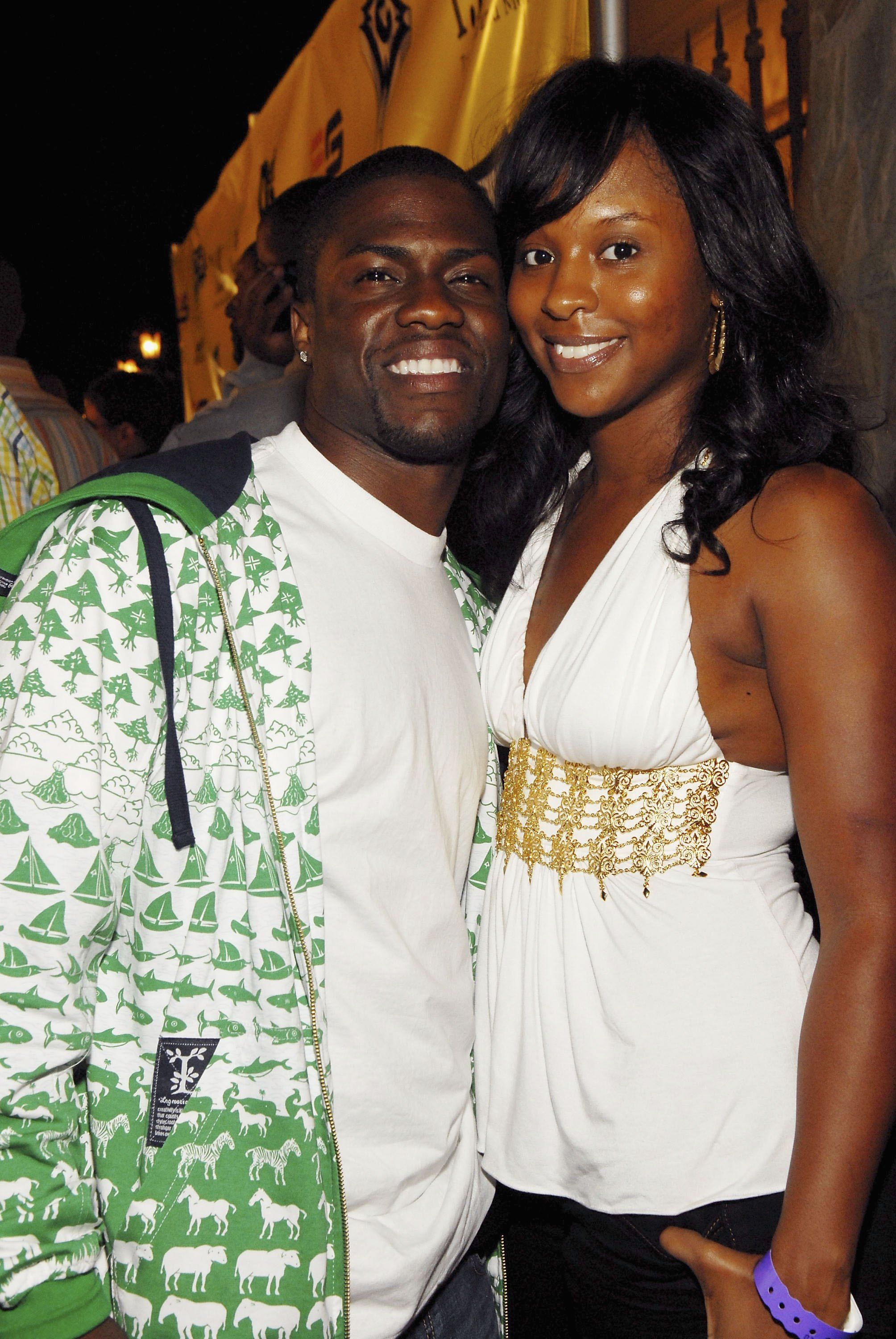 Kevin and Torrei Hart at Ne-Yo's Pre-BET Awards Aarty at the Day After Club on June 25, 2006   Photo: Getty Images