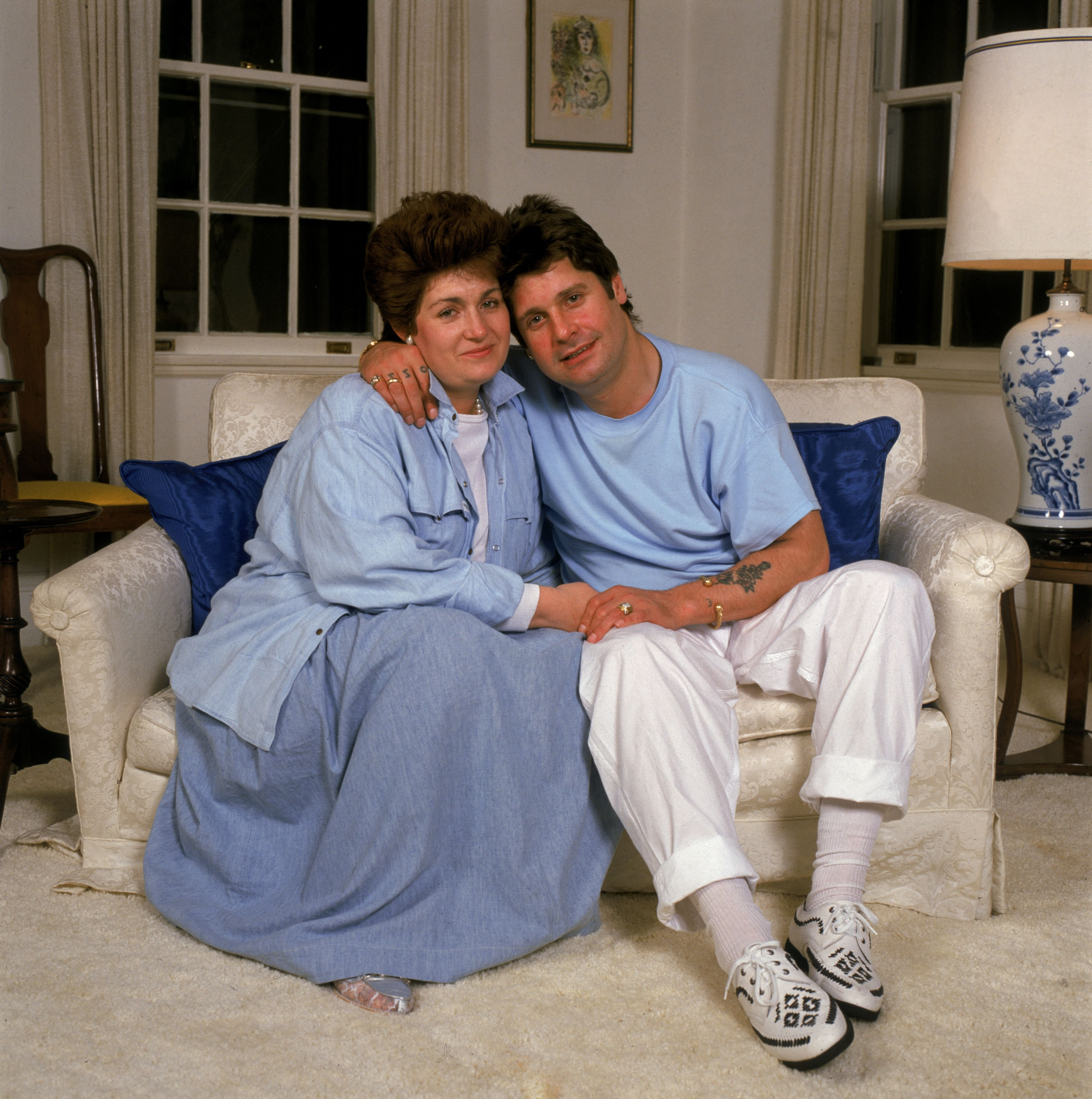 Ozzy and Sharon Osbourne in the 90s | Source: Getty Images