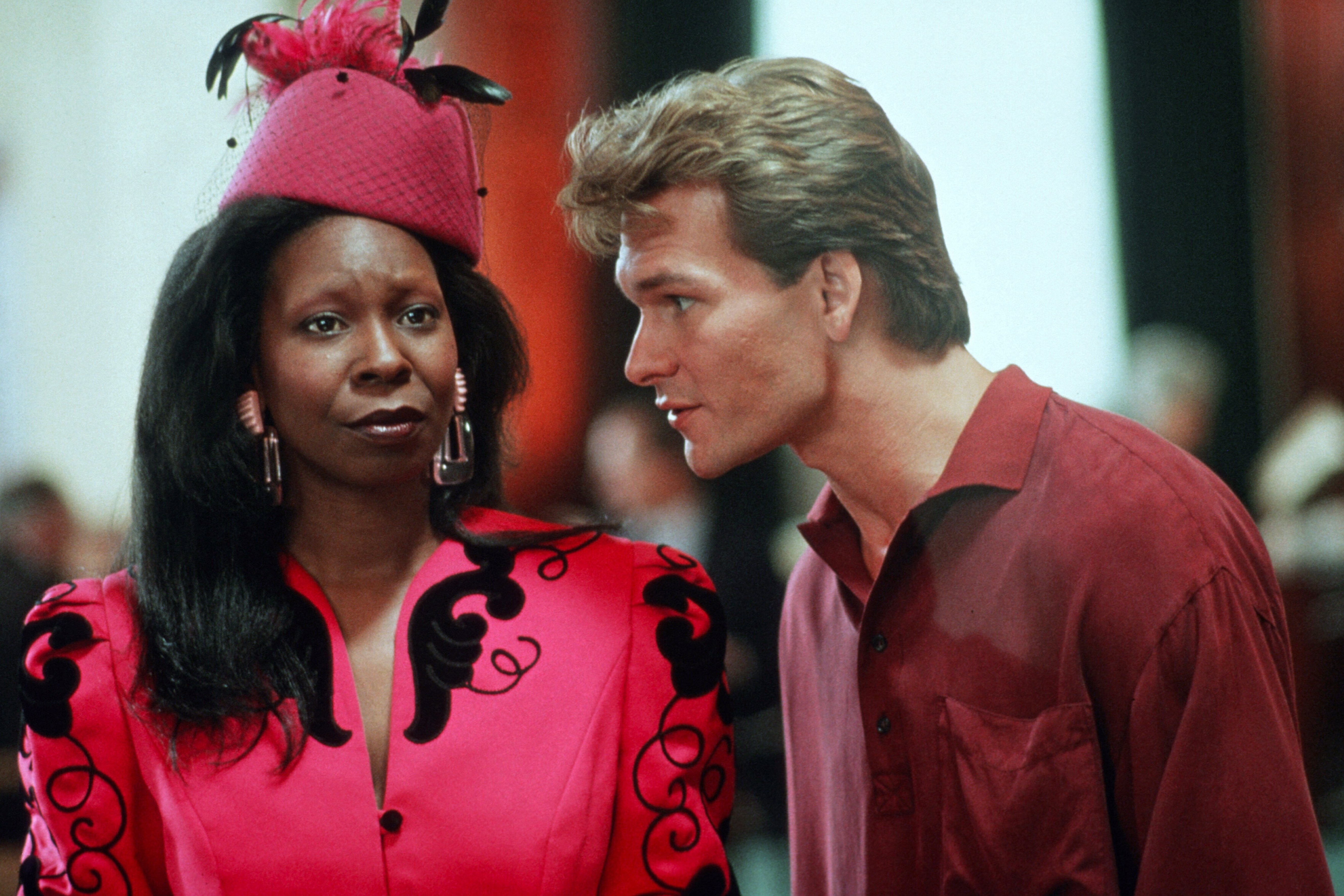 "Whoopi Goldberg and Patrick Swayze film 1990's ""Ghost"" 