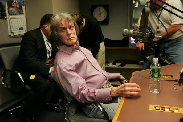 Don Imus talking about complaints that he made racially charged comments in New York City | Photo: Getty Images