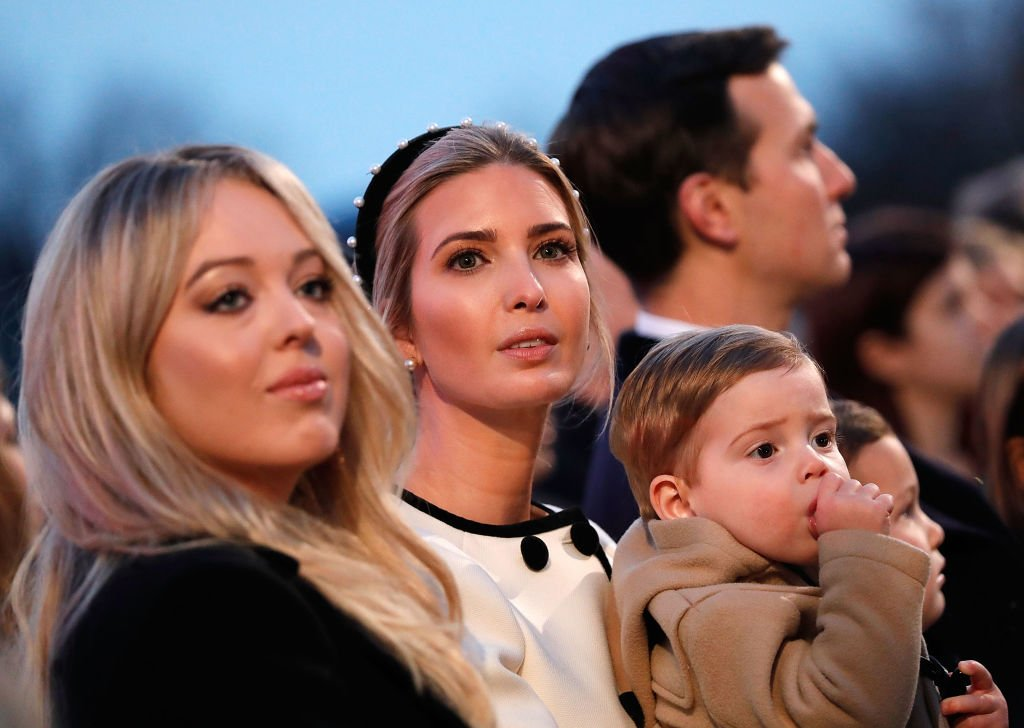 Tiffany Trump, Ivanka Trump and Theodore Trump attend the 95th Annual National Christmas Tree Lighting Ceremony in President's Park on November 30, 2017 in Washington, DC.   Photo: GettyImages