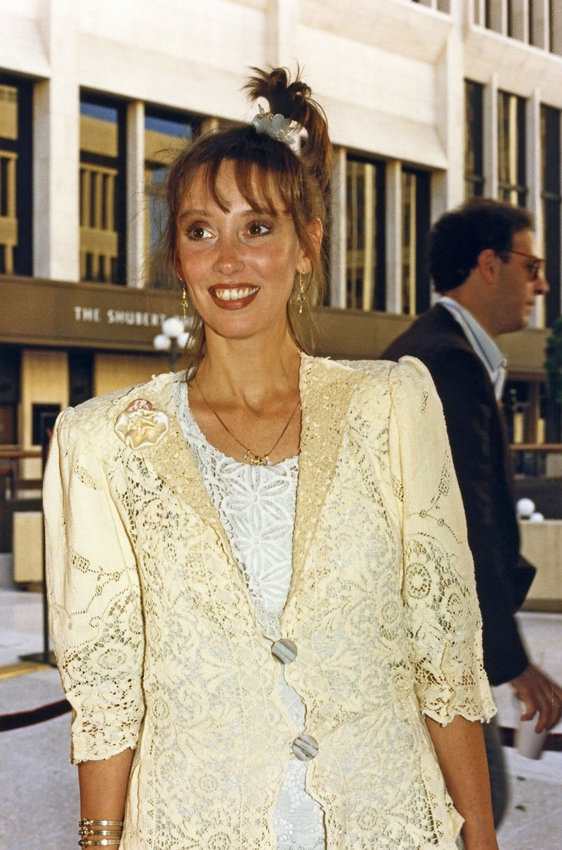 Shelley Duvall in Los Angeles, California circa 1990 | Photo: Getty Images