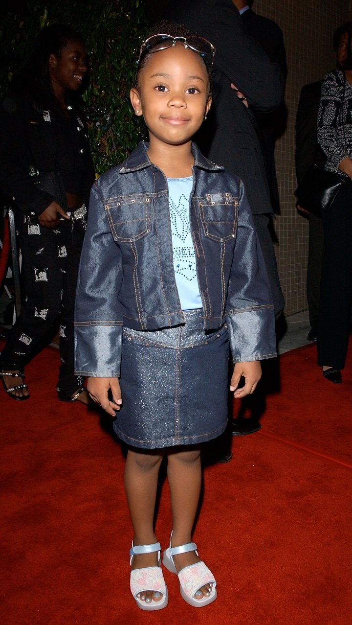 """Dee Dee Davis arriving at the """"The Bernie Mac Show"""" season premiere party in Beverly Hills, California in September 2002. 