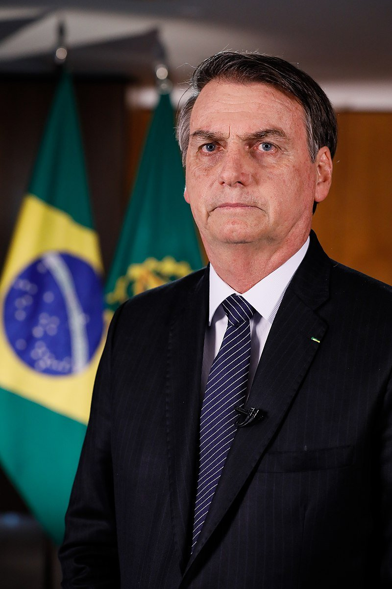 President of Brazil Jair Bolsonaro | Photo: Wikimedia Commons