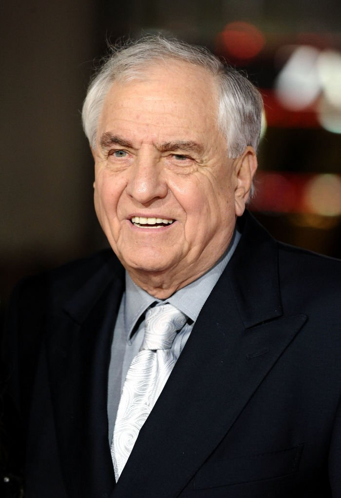 "Director Garry Marshall arrives at the premiere of New Line Cinema's ""Valentine's Day"" at Grauman's Chinese Theatre  
