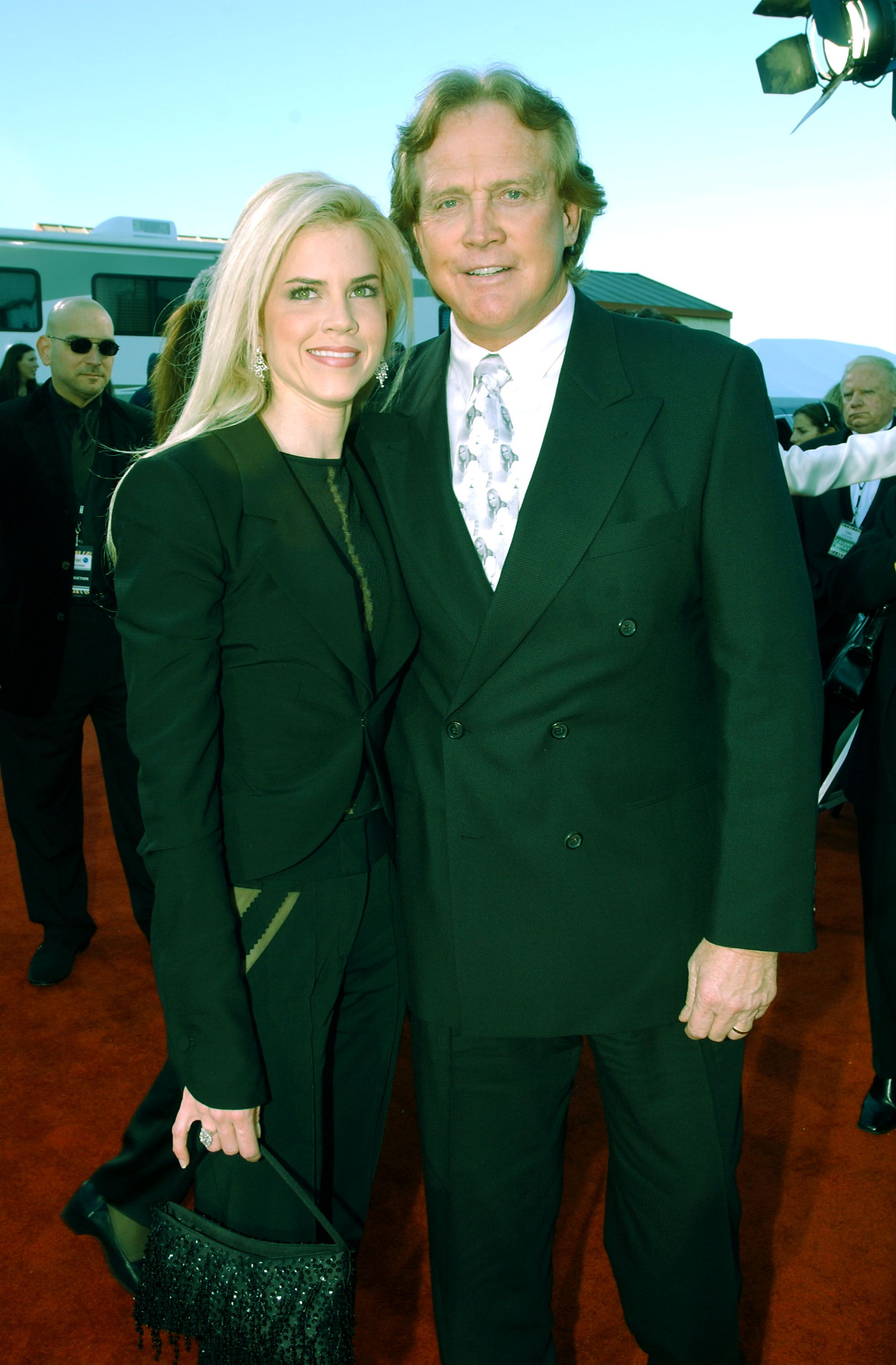 Actor Lee Majors and his wife Faith attend the TV Land Awards 2003 at the Hollywood Palladium on March 2, 2003 in Hollywood, California | Photo: Getty Images