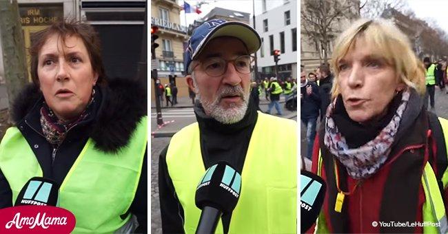 Les Gilets jaunes font des commentaires sur le discours d'Emmanuel Macron durant la traditionnelle galette des rois