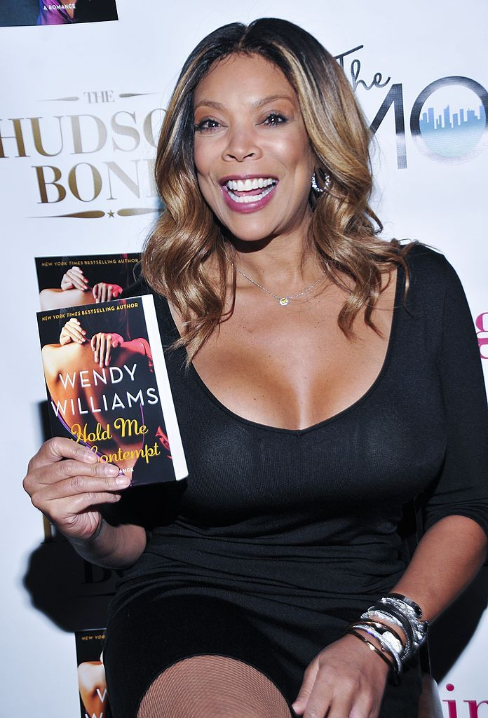 """Wendy Williams at the launch of her book """"Hold Me In Contempt"""" in 2014 in New York   Source: Getty Images"""
