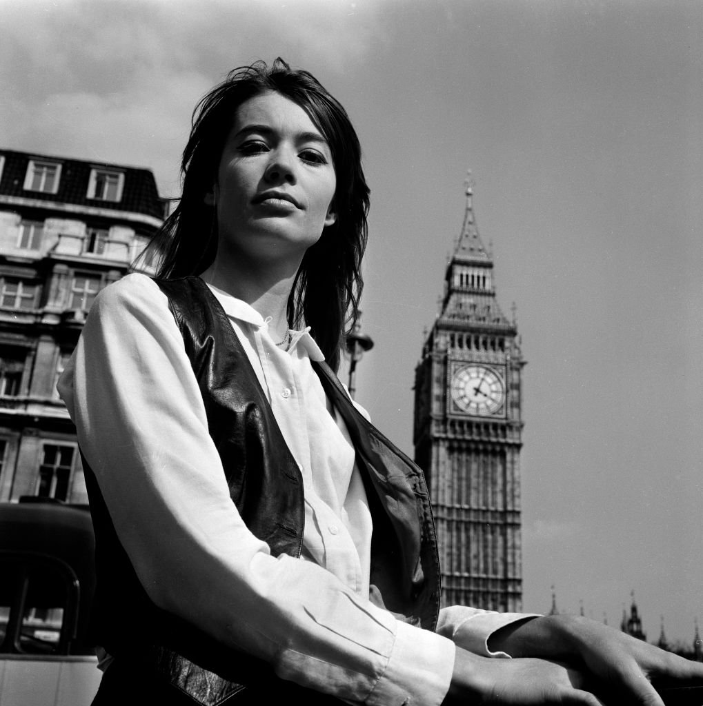 Portrait de Françoise Hardy, mai 1968 | Photo : Getty Images