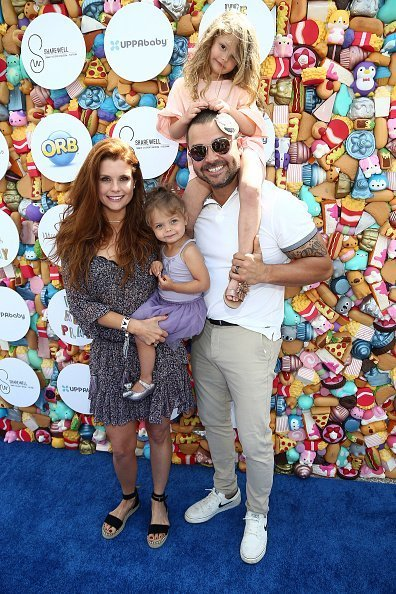JoAnna Garcia and Nick Swisher at the Future Home of Cayton Children's Museum on April 28, 2018 in Santa Monica, California.   Photo: Getty Images