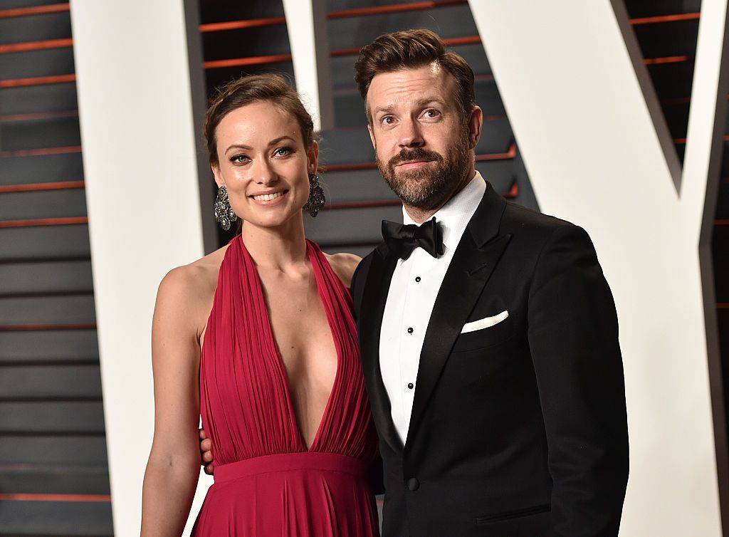Olivia Wilde and Jason Sudeikis at the 2016 Vanity Fair Oscar Party at Wallis Annenberg Center for the Performing Arts in Beverly Hills, California | Photo: John Shearer/Getty Images
