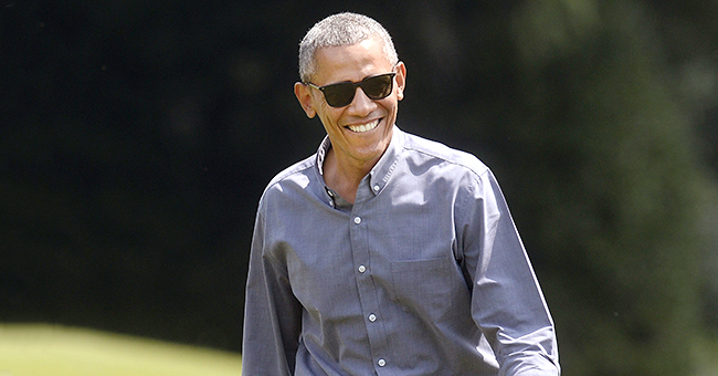 Barack Obama Plays Football & Softball with Kids at Washington Nationals Youth Academy