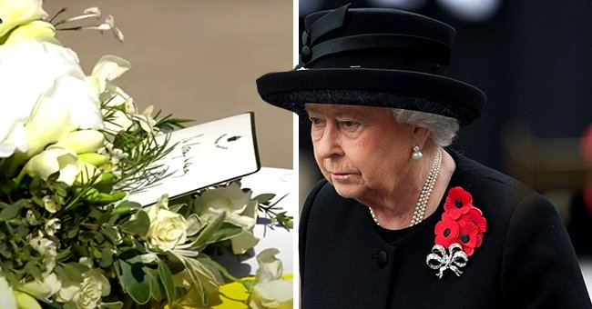 Queen Elizabeth Bids Final Farewell to Prince Philip with a Handwritten Note Laid on His Casket