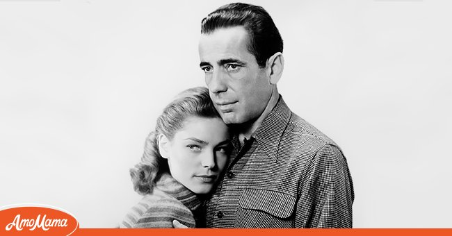 Picture of actress Lauren Bacall and her husband, Humphrey Bogart | Photo: Getty Images