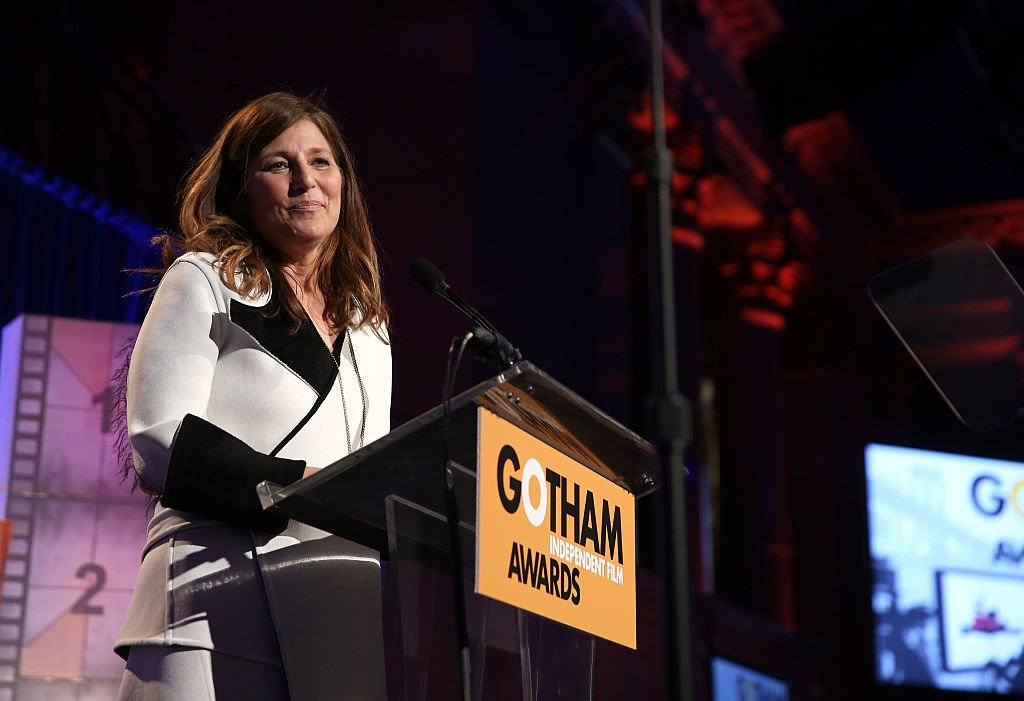 Catherine Keener speaks onstage at IFP's 24th Gotham Independent Film Awards at Cipriani, Wall Street on December 1, 2014. | Photo: Getty Images