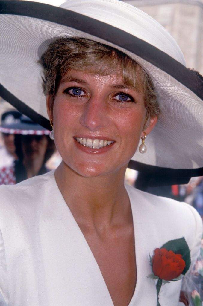 Princess Diana at Portsmouth Cathedral onAugust 1, 1991   Photo:John Shelley Collection/Avalon/Getty Images