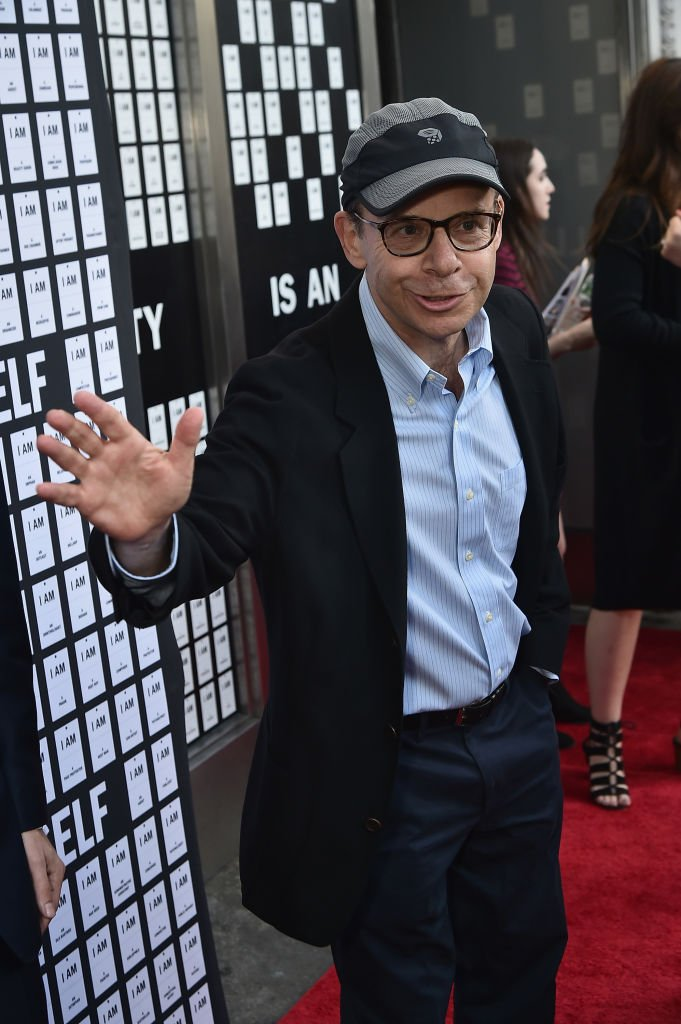 """Rick Moranis attends """"In & Of Itself"""" Opening Night - Arrivals at Daryl Roth Theatre 