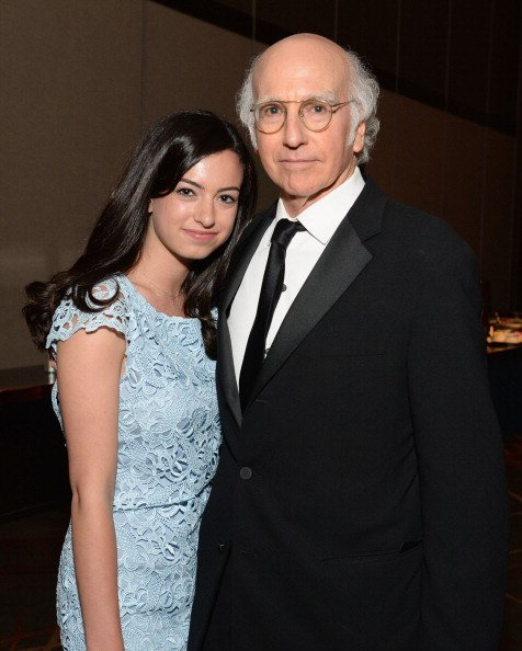 Cazzie David and Larry David at Dolby Theatre on June 6, 2013, in Hollywood, California. | Photo: Getty Images