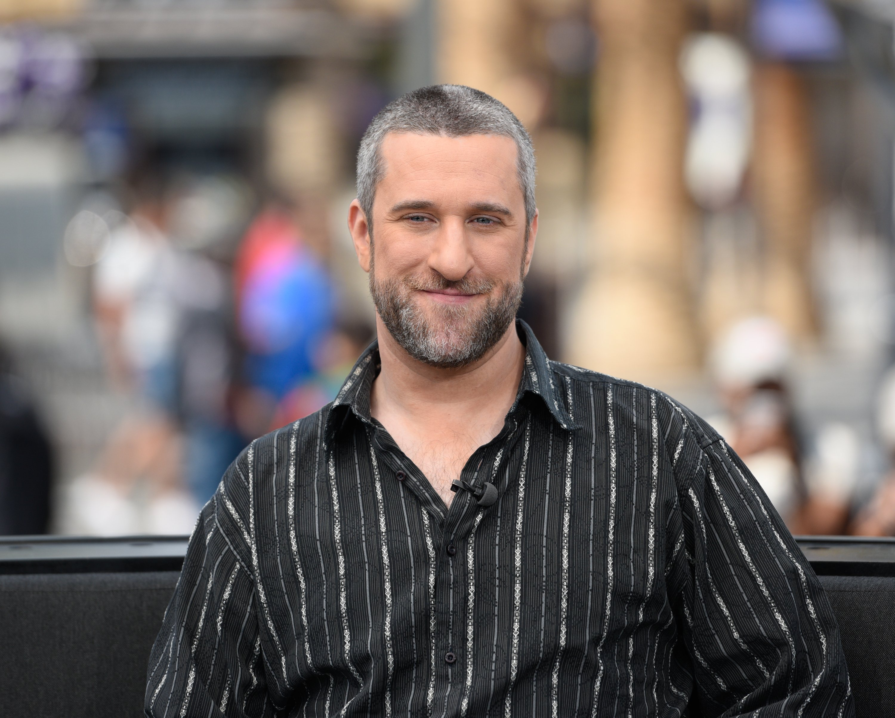 """Dustin Diamond visits """"Extra"""" at Universal Studios Hollywood on May 16, 2016 in Universal City, California.   Photo by Noel Vasquez/Getty Images"""