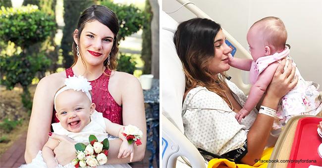 Mamá de 19 años, que luchó contra un tumor cerebral para dar a luz, fallece pocos meses después
