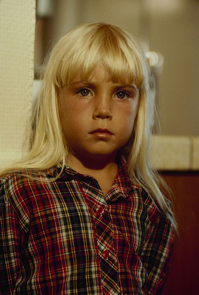 """Heather O'Rourke in """"The Woman In White"""" 
