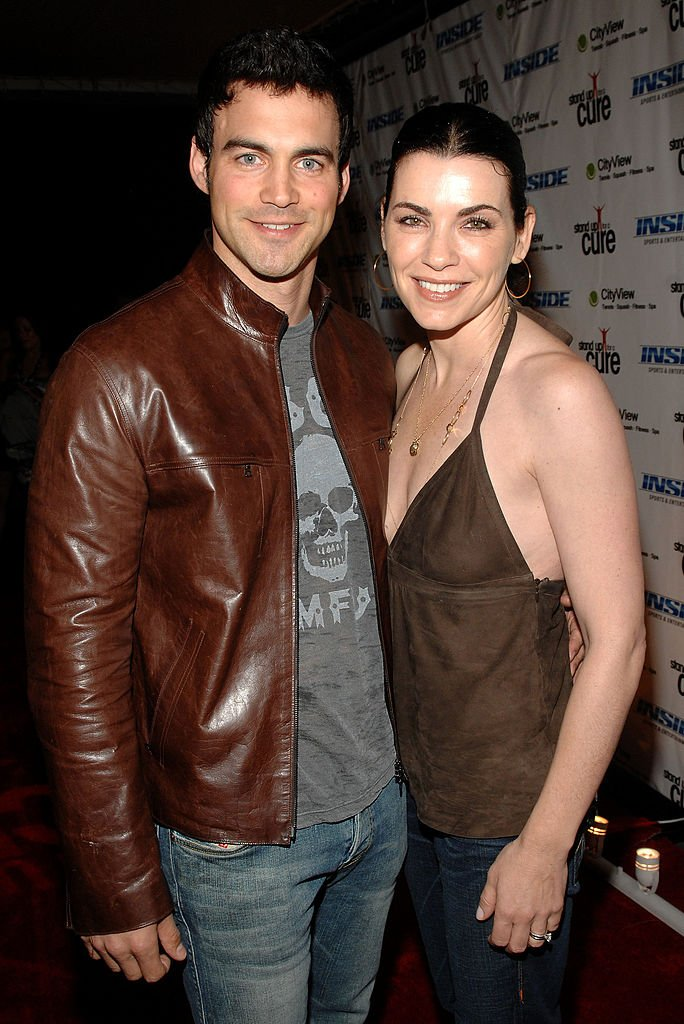 Keith Lieberthal and Julianna Margulies arrive at the Stand Up For A Cure 2008 Concert Series With Dave Matthews Band Hosted by Julia Roberts at Madison Square Garden on September 10, 2008. | Photo: Getty Images