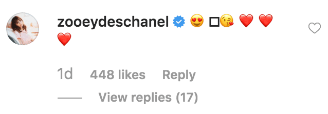 Zooey Deschanel sends Johnathan Scott heat emoji's in response to his Thanksgiving post | Source: Instagram.com/mrsilverscott