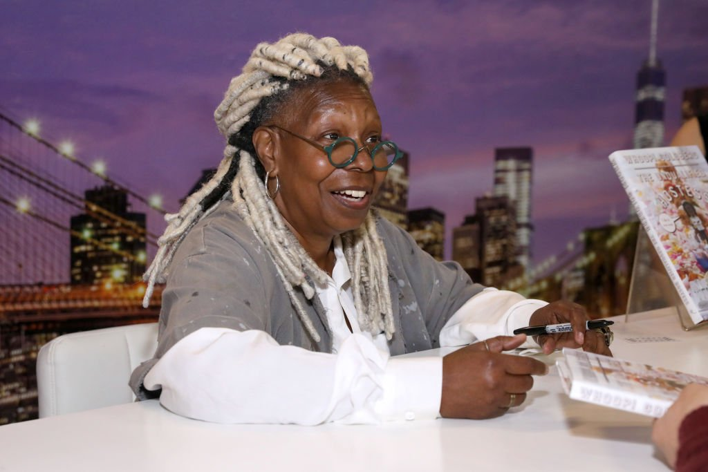 Whoopi Goldberg participates in book signing during the Grand Tasting presented by ShopRite featuring Culinary Demonstrations at The IKEA Kitchen presented by Capital One at Pier 94 in New York City | Photo: Getty Images