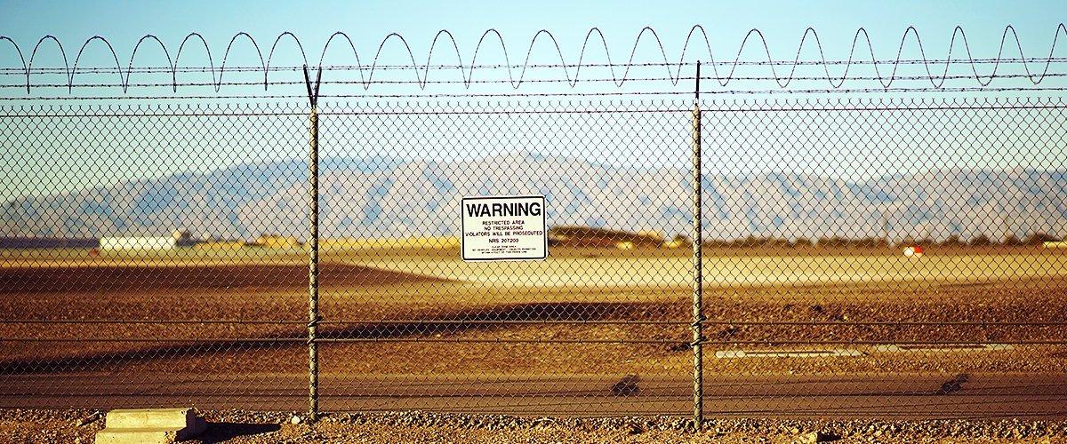 Area 51 fencing in Nevada | Photo: Shutterstock
