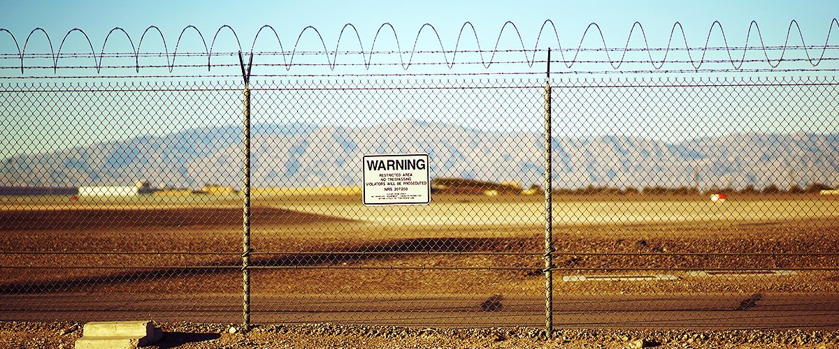 Area 51 fencing in Nevada | Photo: Shutterstock