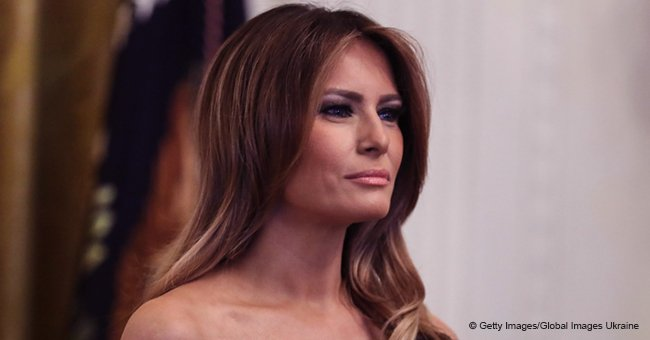 Melania Trump shares a rare photo from 14 years ago as she pays tribute to late Karl Lagerfeld