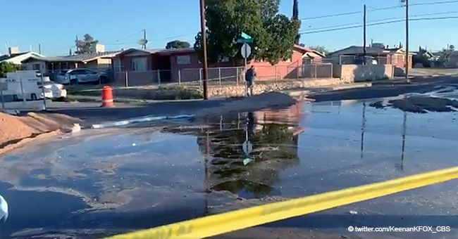Texas Neighborhood Immersed in Coca-Cola after a Huge Spill at a Nearby Facility