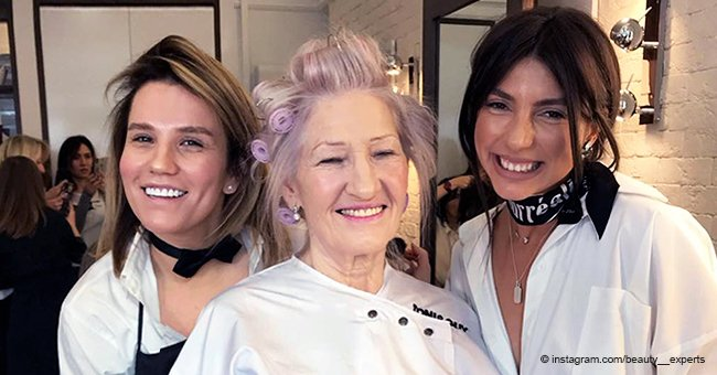 72-Year-Old Granny Gets Stunning Makeover and Changes beyond Recognition