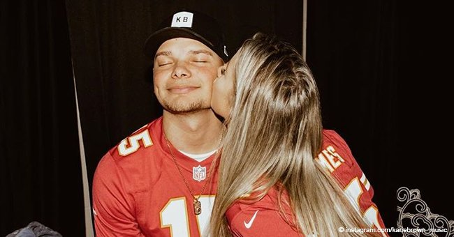 Country star Kane Brown reduced wife to tears with his Valentine's day surprise