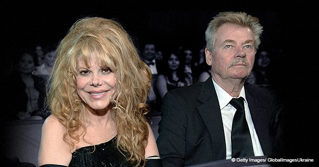 Who was Charo's late husband of 40 years that committed suicide