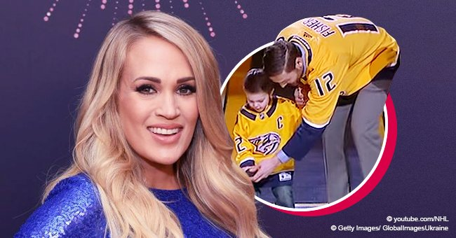 Carrie Underwood's Little Son Steals the Show during a Rare Public Appearance